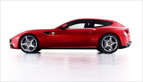 Ferrari FF, an All-Wheel-Drive Shooting Brake